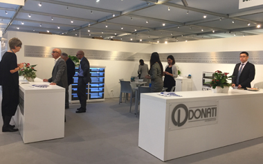 DONATI, a subsidiary of SACA, will present the 2018 Italian SICAM autumn furniture material exhibition